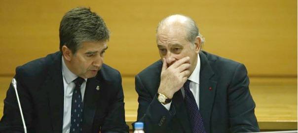 Fernández Díaz i Ignacio Cosidó (fotografia: Europa Press).