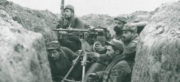 Soldats de l'exèrcit francès durant la Gran Guerra.