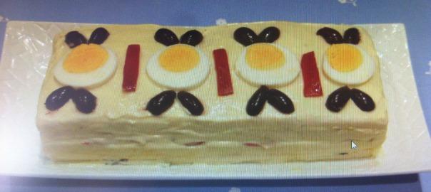 Pastís d'estiu, segons una recepta de Neus Cuscó.