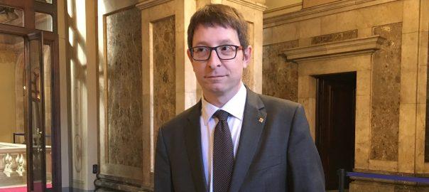 Carles Mundó, conseller de Justicia de la Generalitat.