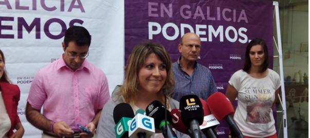 Carmen Santos, secretària general de Podem Galícia