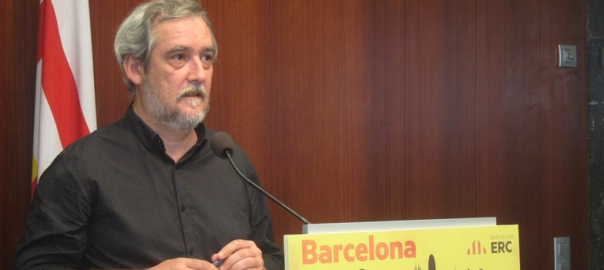 Jordi Coronas, portaveu del grup municipal d'ERC a l'Ajuntament de Barcelona