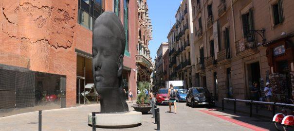 Escultura 'Carmela', de Jaume Plensa.