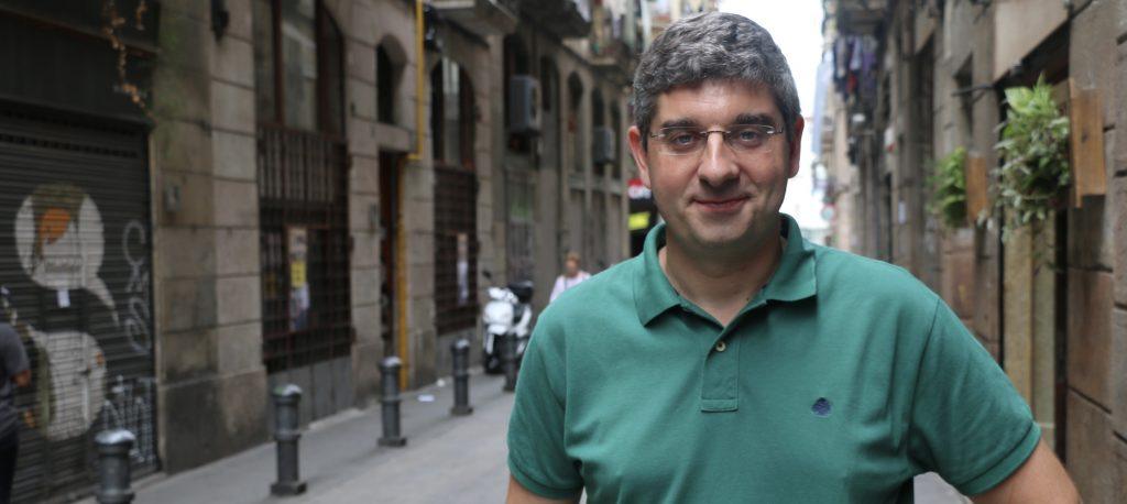 L'astrofísic Ignasi Ribas. Fotografia: Josep Rexach.