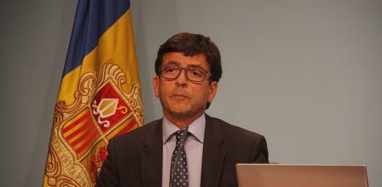 El ministre de finances d'Andorra, Jordi Cinca,
