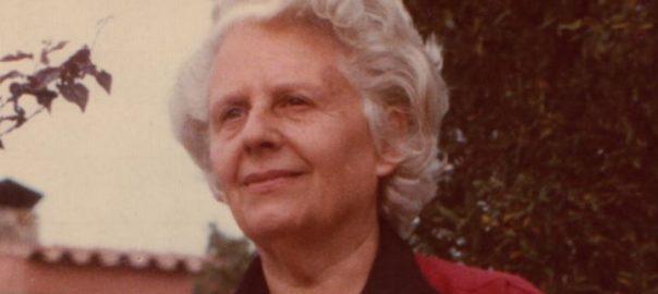 Mercè Rodoreda. Fotografia de l'Arxiu Vilallonga