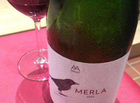 Merla, vi natural d'Alta Alella.