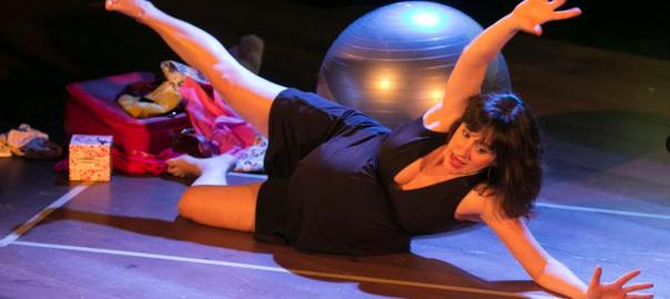 L'actriu Maria Juan, a 'Emprenyada'