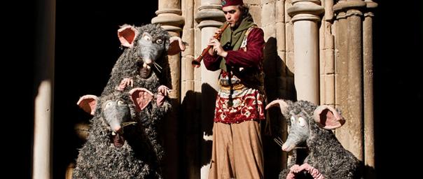 Fotografia de l'espectacle 'Rats!', de Campi qui Pugui.