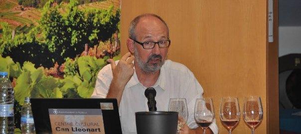 Joan Gomez Pallarès, llatinista i especialista en vins. ©Òscar Pallarès