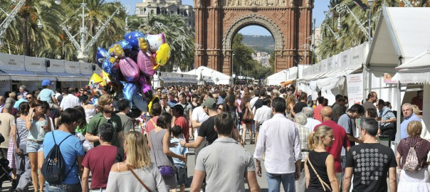 Mostra de vins i caves de Catalunya, al passeig Lluís Companys.
