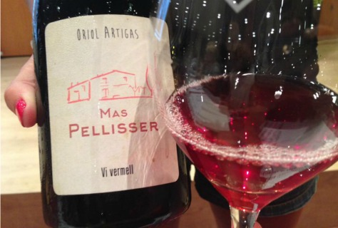 Vi vermell Mas Pellicer d'Oriol Artigas.