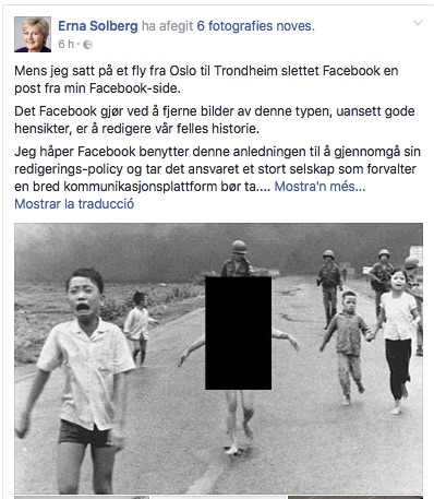 censura facebook