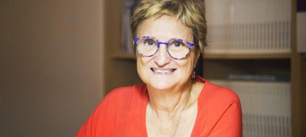Fina Rubio, presidenta de la Fundació Surt