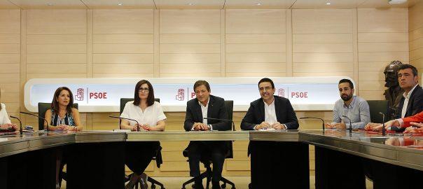 Els deu membres de la gestora del PSOE i que han dirigit el partit des de la dimissió de Pedro Sánchez