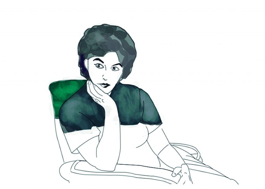 Maria Beneyto, il·lustració de l'exposició.