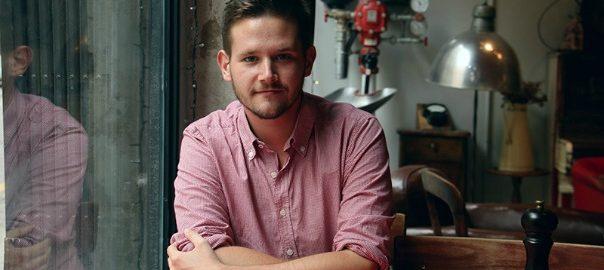 L'escriptor Sebastià Portell (©Ester Roig).