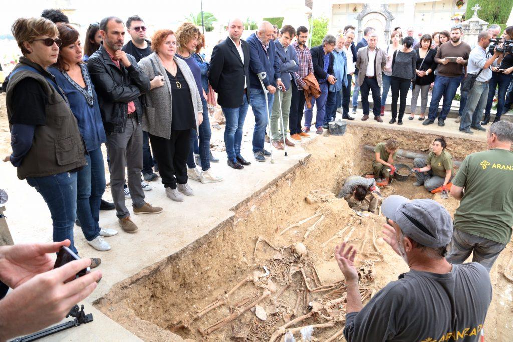 La presidenta Francina Armengol visitant Porreres