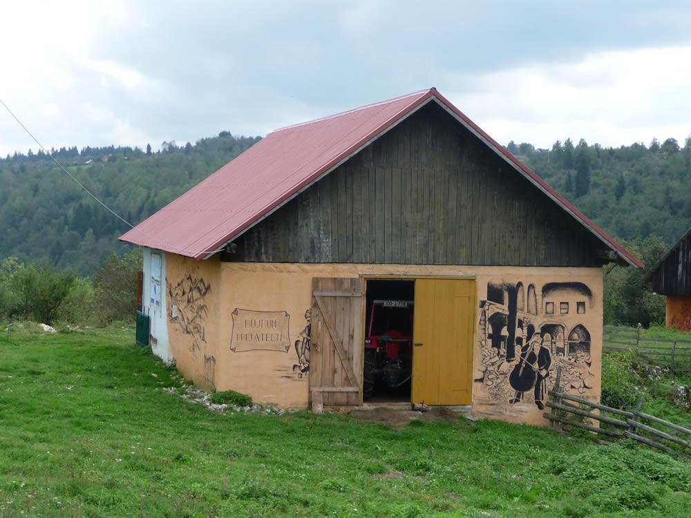 Sahbegovici. Pintures murals