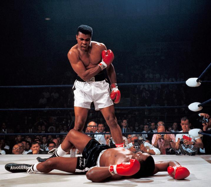 Muhammad Ali vs Sonny Liston de Neil Leifer 1965