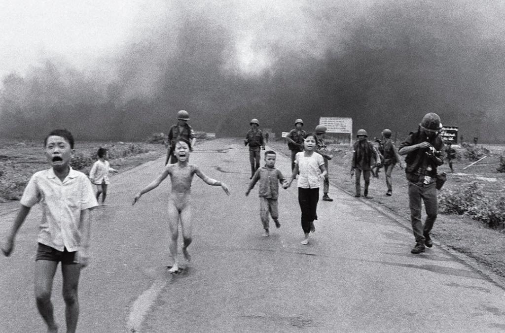 El terror de la guerra de Nick Ut (1972)