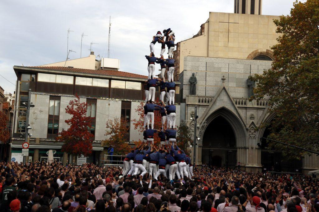 El cinc de nou amb folre dels Capgrossos de Mataró.