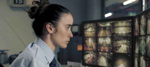 Imatge del curtmetratge 'Timecode' premiat amb la Palma d'Or del Festival de Canes. Primer pla de Lali Ayguadé.