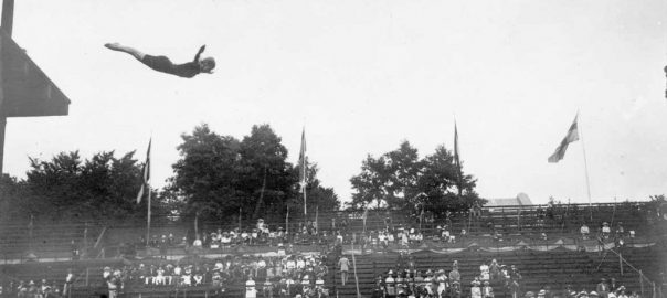 JO Stockholm 1912, Plongeon, haut vol 10m Femmes - Greta JOHANSSON (SWE) 1e.