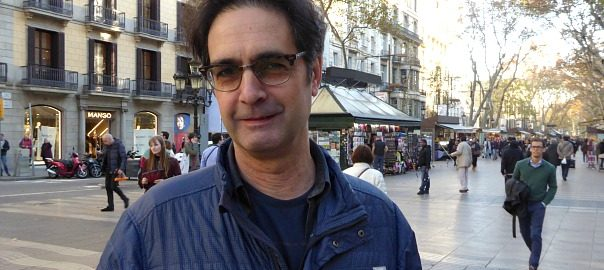 L'escriptor Vicenç Pagès Jordà.