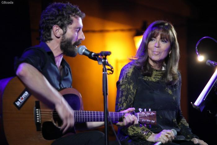 Borja Penalba i Maria del Mar Bonet (foto: Gemma Boada)