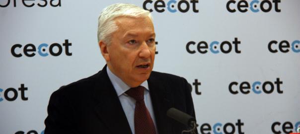 El president de la patronal Cecot, Antoni Abad.
