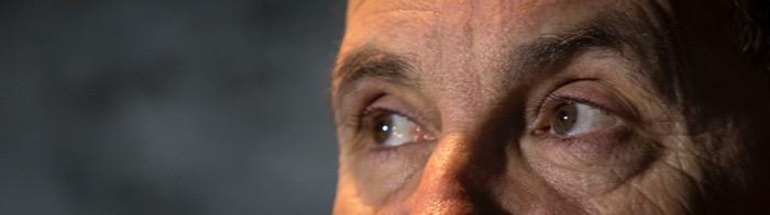 La mirada d'Arnaldo Otegi (fotografia d'Albert Salamé).