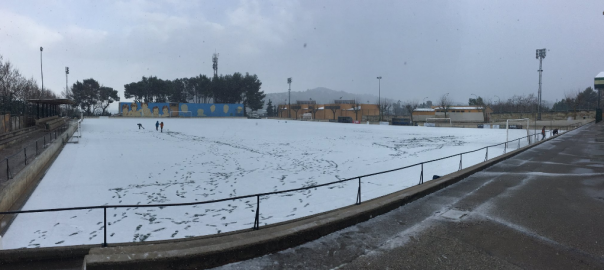 El camp de futbol d'Alaró, a Mallorca Autor: @PizaTomeu