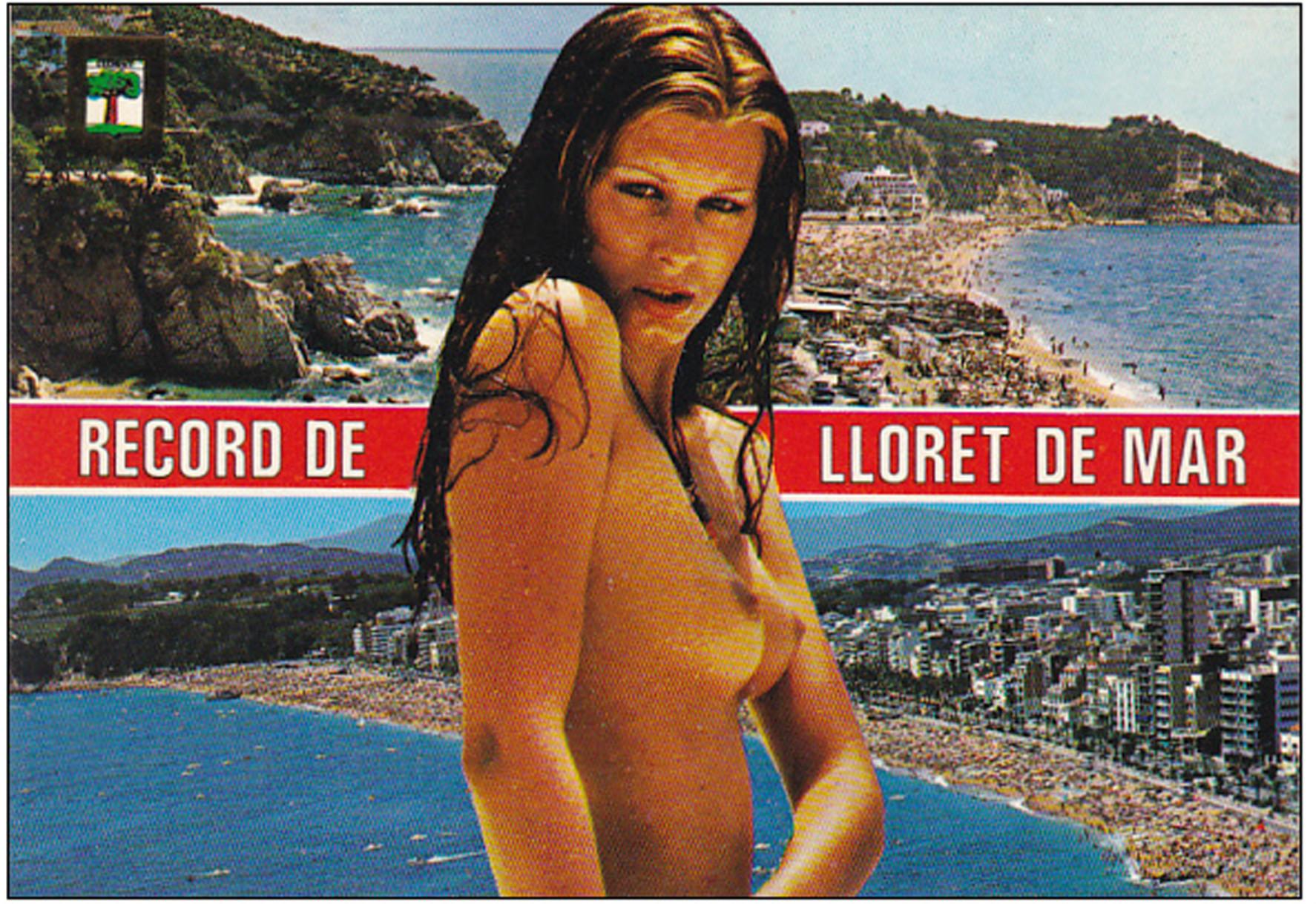 Una posta de Lloret de Mar de l'època | Foto: Revista de Girona