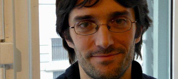 L'escriptor Raül Garrigasait.