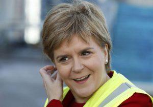 La primera ministra escocesa Nicola Sturgeon