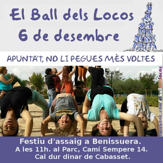 Assaig Ball dels Locos a Benissuera