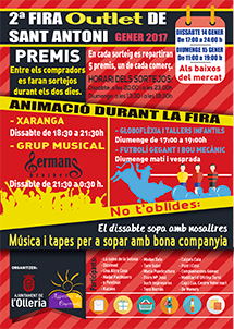 Fira outlet l'Olleria 2016