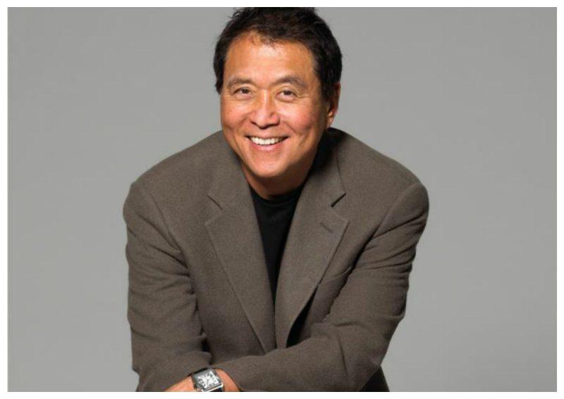 Autor de libros de autoayuda en finanzas personales Robert Kiyosaki