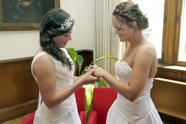 matrimonio gay entre lesbianas