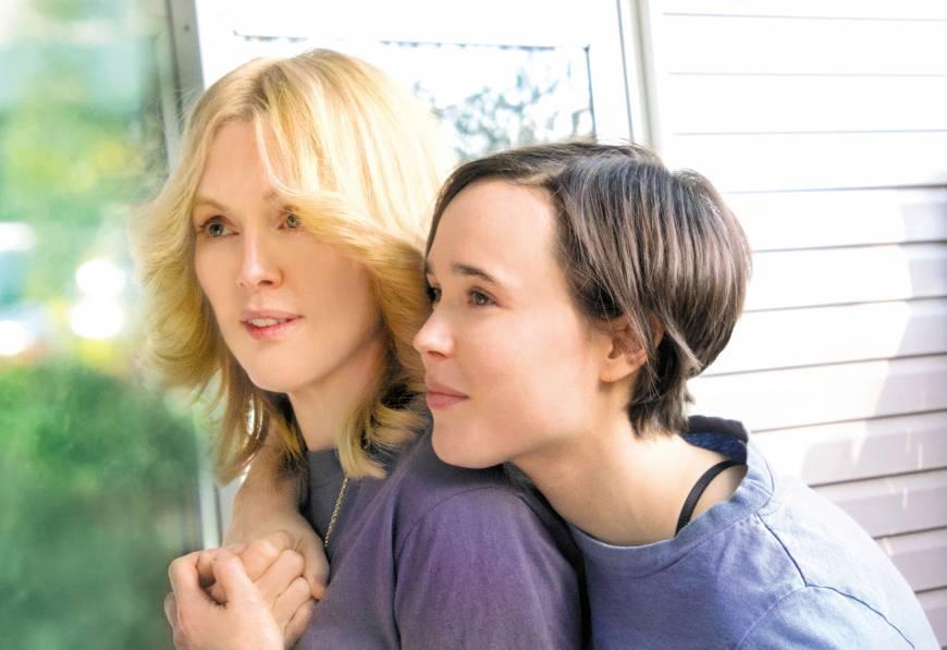 Julianne Moore (Laurel Hester) Ellen Page (Stacie Andree) Freeheld