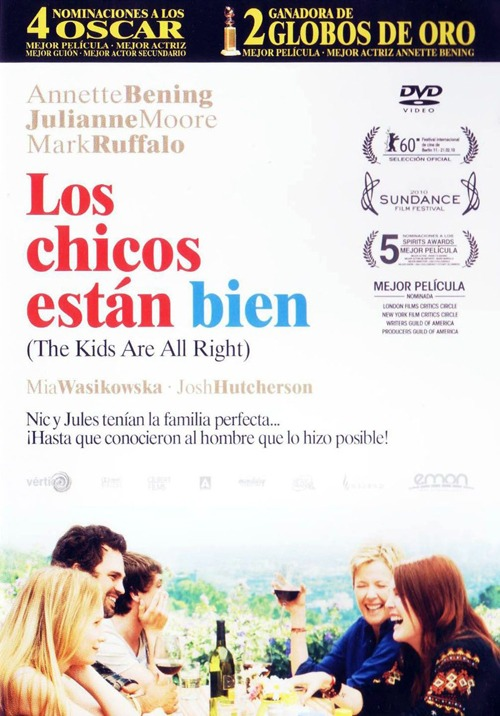 Los chicos están bien (The kids are all right) pleícula LGBT