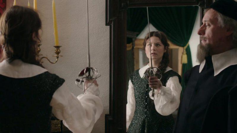 Reina Cristina (The Girl King) película lesbianas
