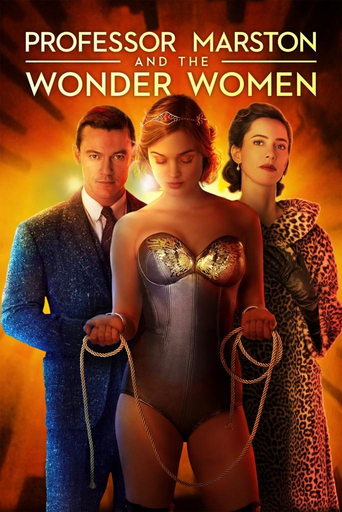 Wonder Woman y el Profesor Marston película biográfica lesbianas