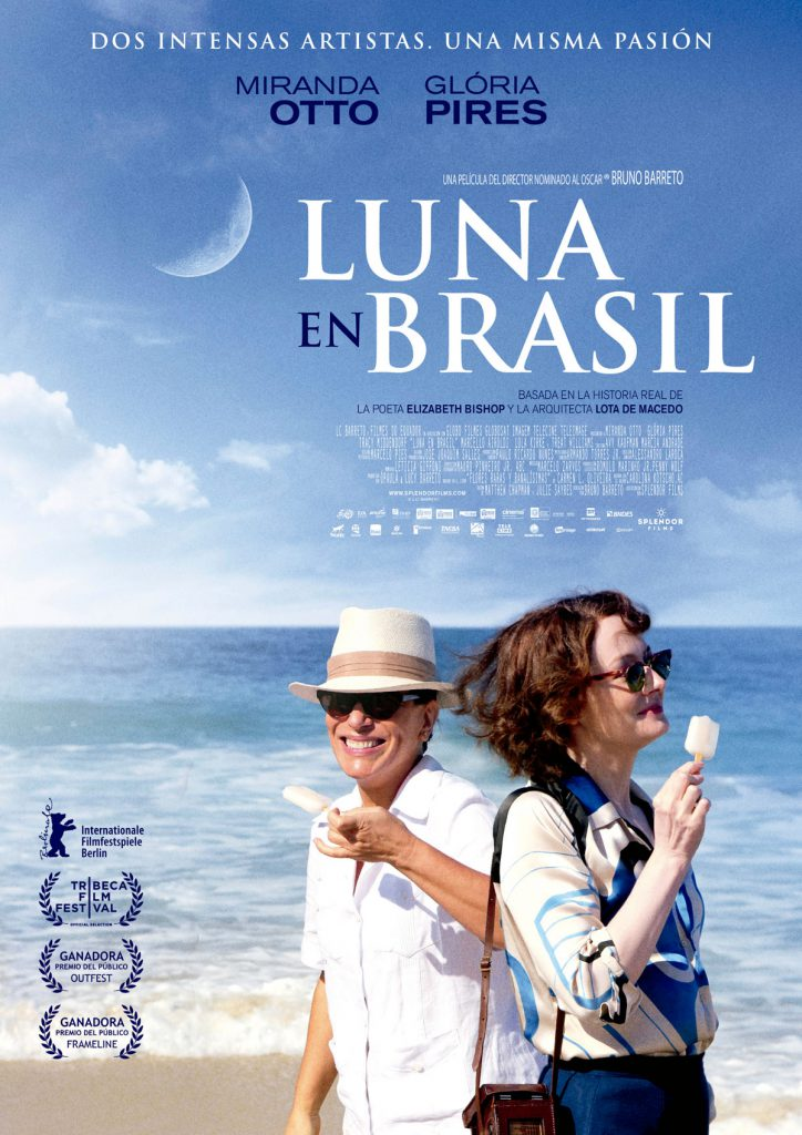 Luna en Brasil (Flores raras – Reaching for the Moon) película lesbianas