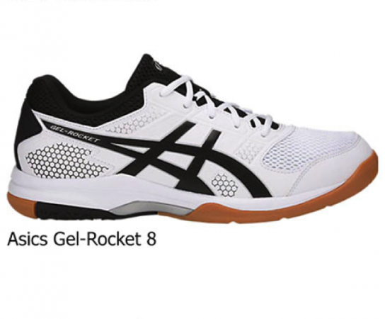 Asics Gel-Rocket 7, 8 y 9