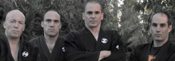 Ninjutsu training and moves