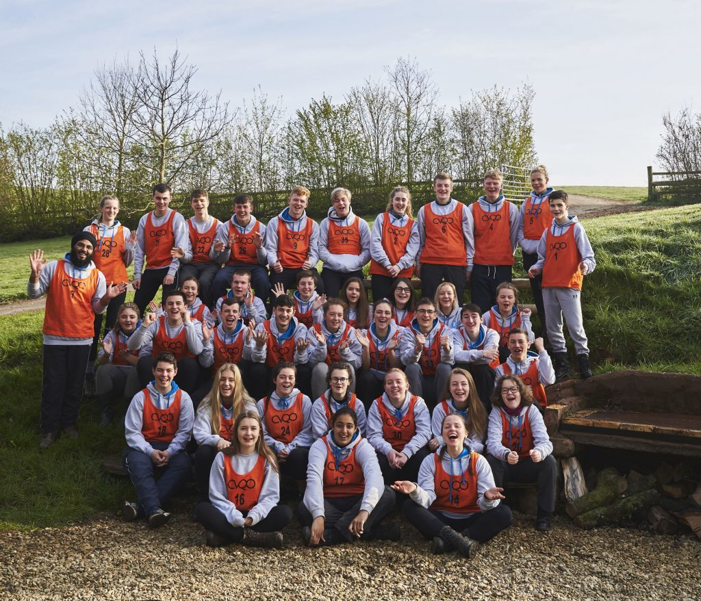 Cadets at the CVQO Westminster Award selection event