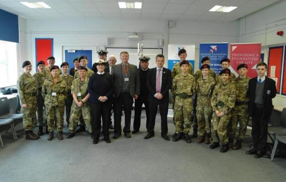 Beccles Free School Royal Marine Cadets