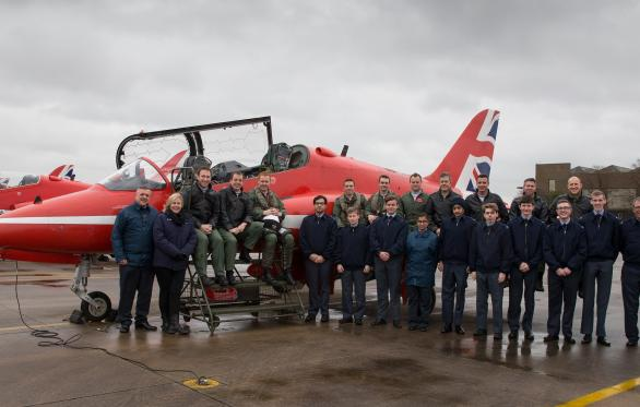 Cadets And Red Arrows